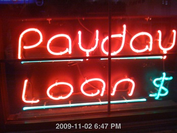 What should you do if you need cash before payday?